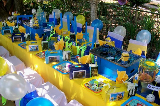 Minion Despicable Me Birthday Party Birthday Party Ideas Themes