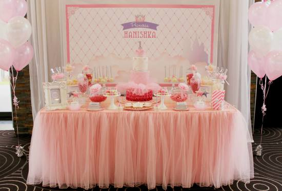 bling princess first birthday party birthday party ideas table centerpiece for birthday party table decor for birthday party