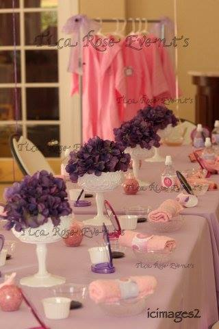 Spa girl theme birthday party Birthday Party Ideas & Themes