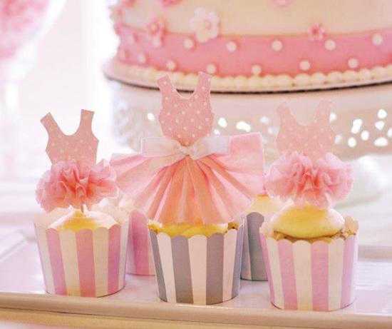 Pink Tutu Ballerina Birthday Party Birthday Party Ideas