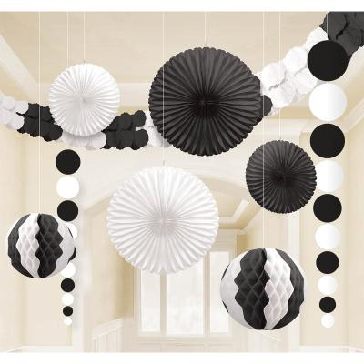 Black And White Party Decorations