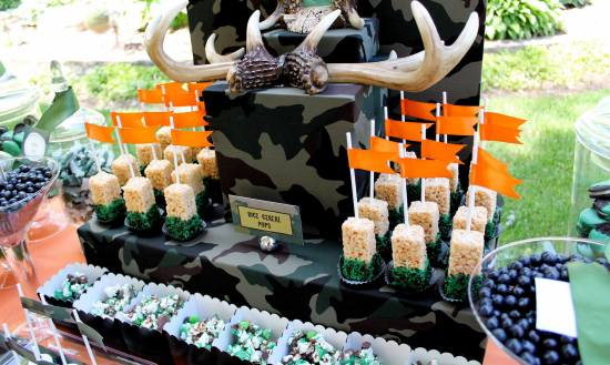 Hunting Theme Birthday Party Birthday Party Ideas Amp Themes