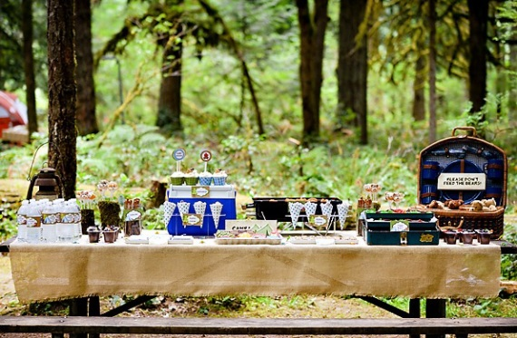 Boys Camping Birthday Party - Birthday Party Ideas & Themes