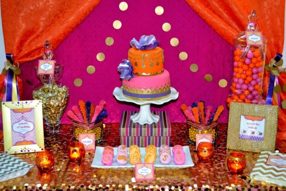& Moroccan Teen Birthday Party - Birthday Party Ideas \u0026 Themes