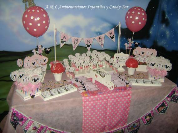 Polka Dot Minnie Mouse Party Birthday Party Ideas Amp Themes