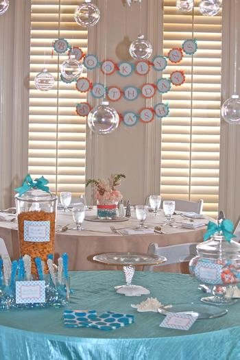 Under The Sea Birthday Splash Birthday Party Ideas Amp Themes