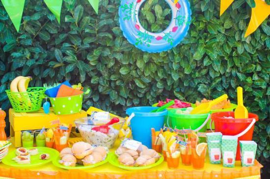 Summer Beach Birthday Party Birthday Party Ideas Themes