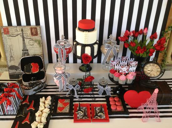Parisian Love Affair Birthday Celebration Birthday Party