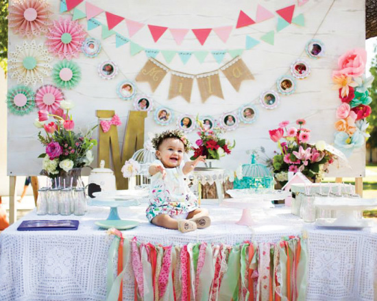 Blooming Spring Birthday Party - Birthday Party Ideas & Themes