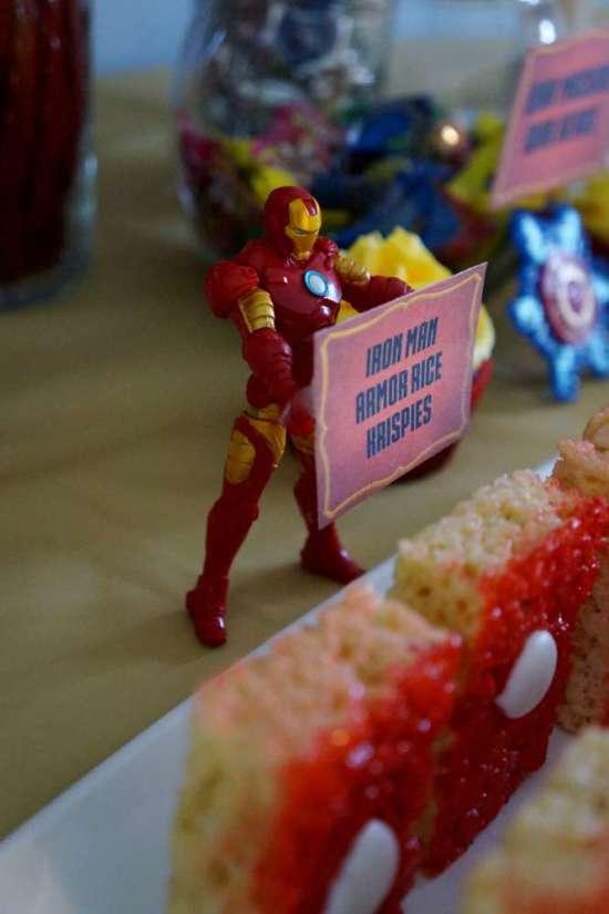 Ironman Birthday Party - Birthday Party Ideas & Themes