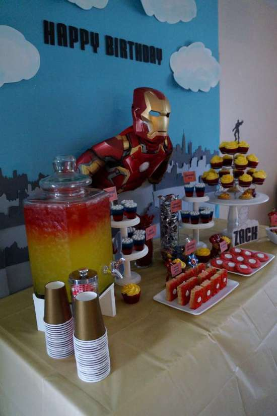 Ironman Birthday Party Birthday Party Ideas Amp Themes