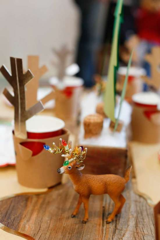 Woodland Christmas Birthday Party Birthday Party Ideas