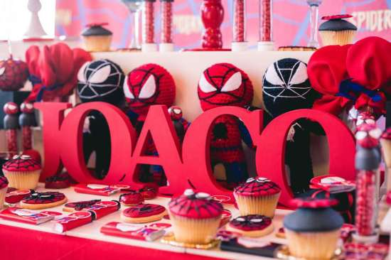 Red Amp White Spiderman Birthday Party Birthday Party