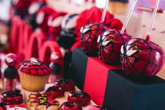 Red & White Spiderman Birthday Party - Birthday Party ...