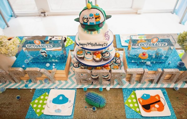 Bright And Chic Octonauts Birthday Party Birthday Party