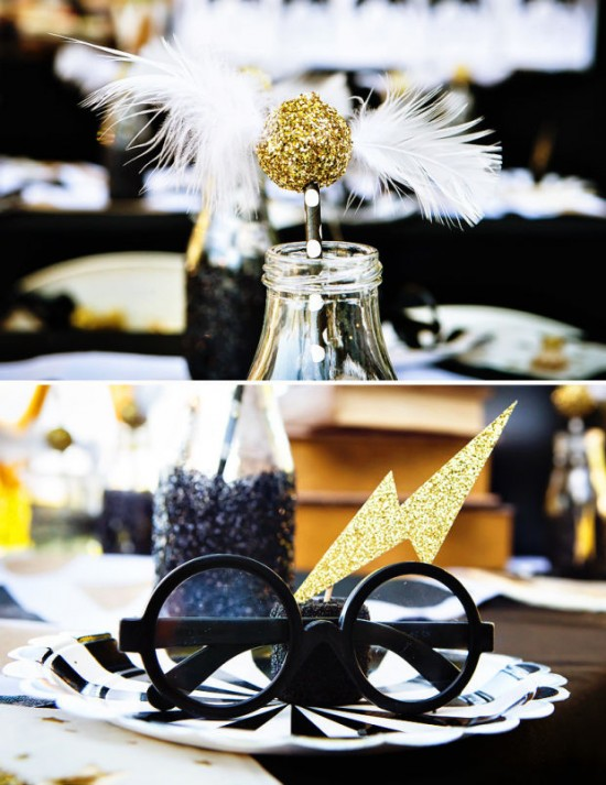 Modern Harry Potter Party - Birthday Party Ideas & Themes