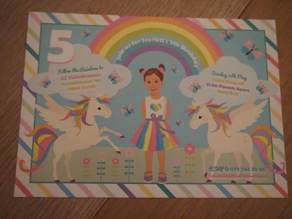 Rainbow Unicorn Birthday Party Birthday Party Ideas Amp Themes