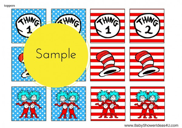 photograph regarding Thing 1 and Thing 2 Printable Template named Detail 1 and factor 2 printable template 7967694 -