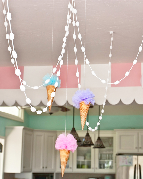 Pastel Ice Cream Parlor Party Birthday Party Ideas Amp Themes