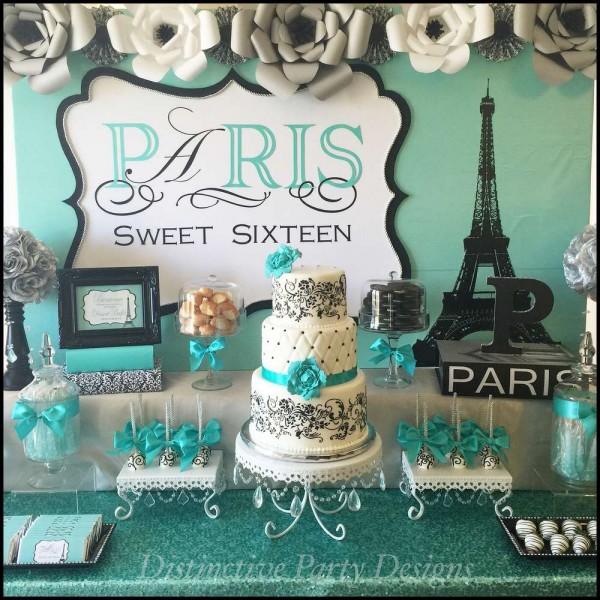 Sweet Sixteen Paris Style Birthday - Birthday Party Ideas ...