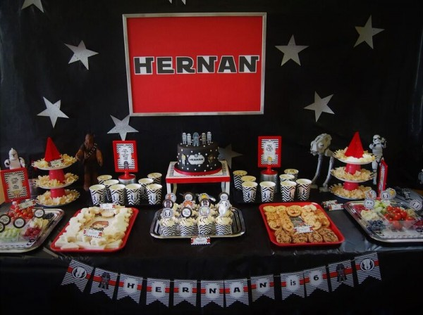 Iconic Star Wars Birthday Party Birthday Party Ideas