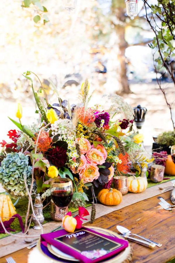Colorful Autumn Outdoor Party Birthday Party Ideas Amp Themes