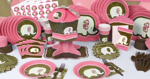 Elephant Birthday Plates: Birthday Party Ideas & Themes