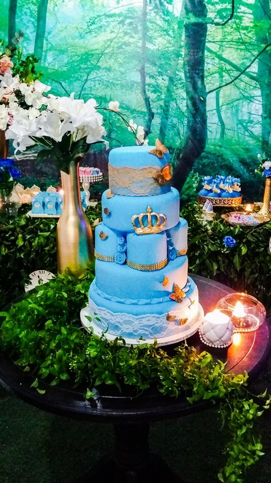 Enchanted Forest Cinderella Party Birthday Party Ideas