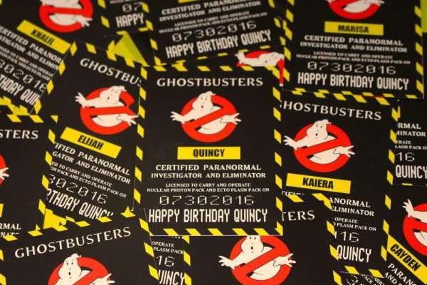 Ghostbustin' Birthday Bash - Birthday Party Ideas & Themes