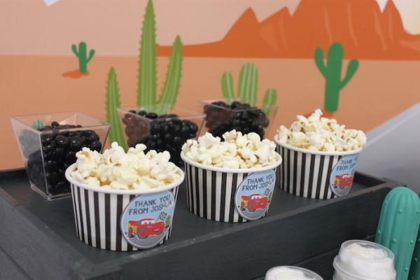 Cars Desert Inspired Birthday Party Birthday Party Ideas