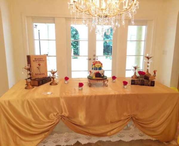 Beauty And The Beast Ball Birthday Party Ideas Amp Themes
