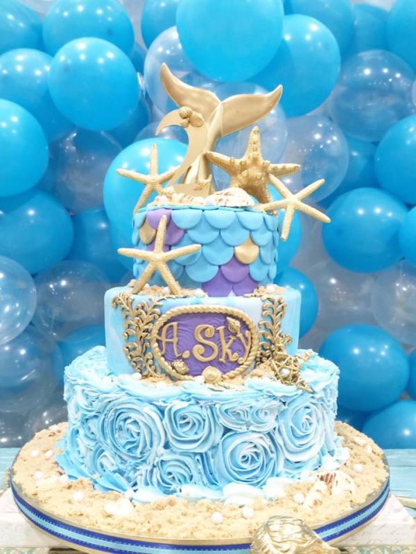 Magical Little Mermaid Birthday Birthday Party Ideas