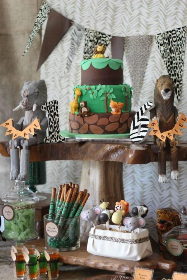 Wild Animal Safari Birthday Party Birthday Party Ideas