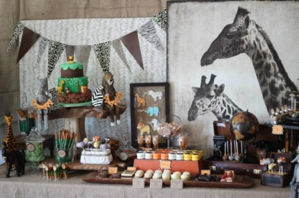 wild animal safari birthday party