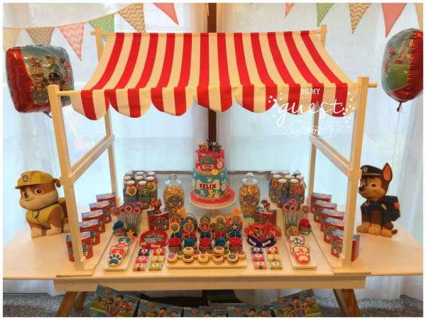 Colorful Paw Patrol Birthday Birthday Party Ideas Amp Themes
