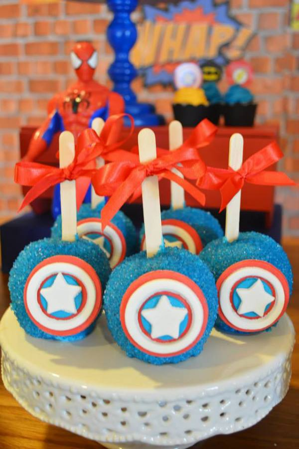 Ka-Pow Superhero Birthday - Birthday Party Ideas & Themes