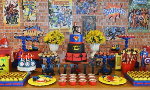 Ka Pow Superhero Birthday Birthday Party Ideas Amp Themes