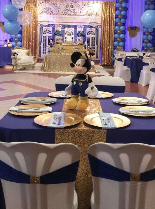 Royal Mickey Mouse Birthday Party Extravaganza Birthday