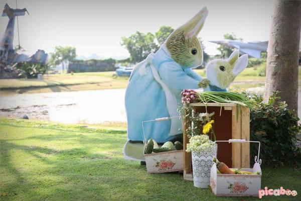 Whimsical Peter Rabbit 1st Birthday Birthday Party Ideas