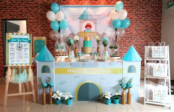 Royal Tiffany Inspired Blue and Gold Birthday - Birthday ...