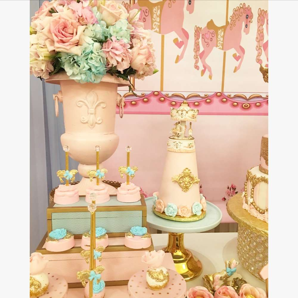 Charming Carousel Baby Shower Baby Shower Ideas Themes