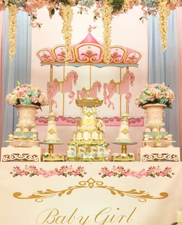 Charming-Carousel-Birthday-Party-Treat-Table