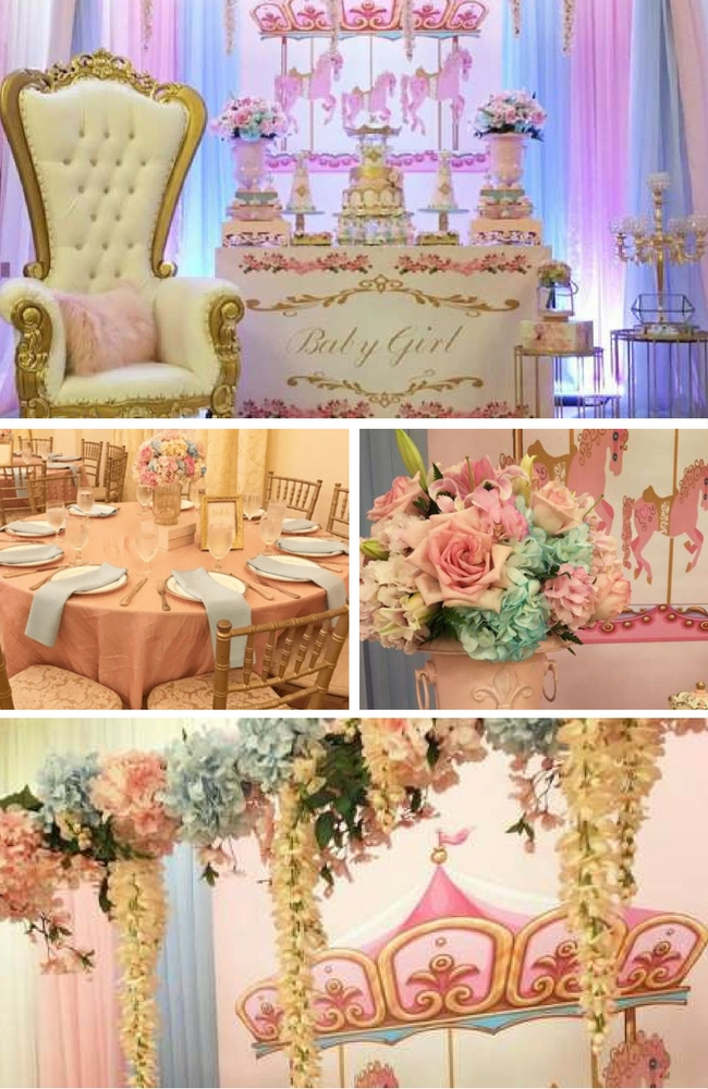 Charming Carousel Baby Shower - Baby Shower Ideas - Themes ...