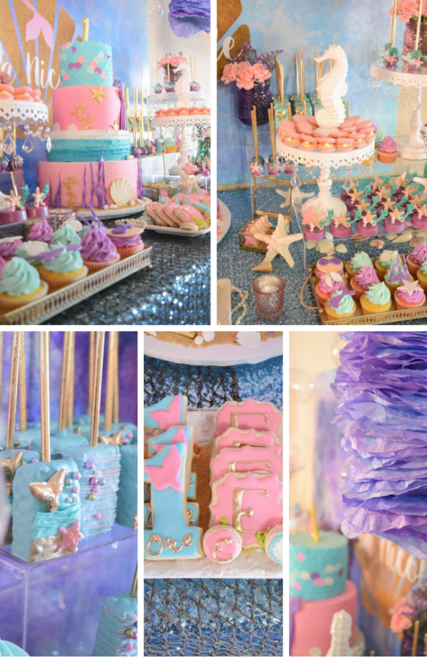 Mermaid Party Inspirations Birthday Party Ideas Amp Themes