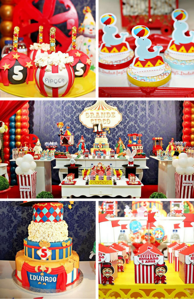 circus party inspirations
