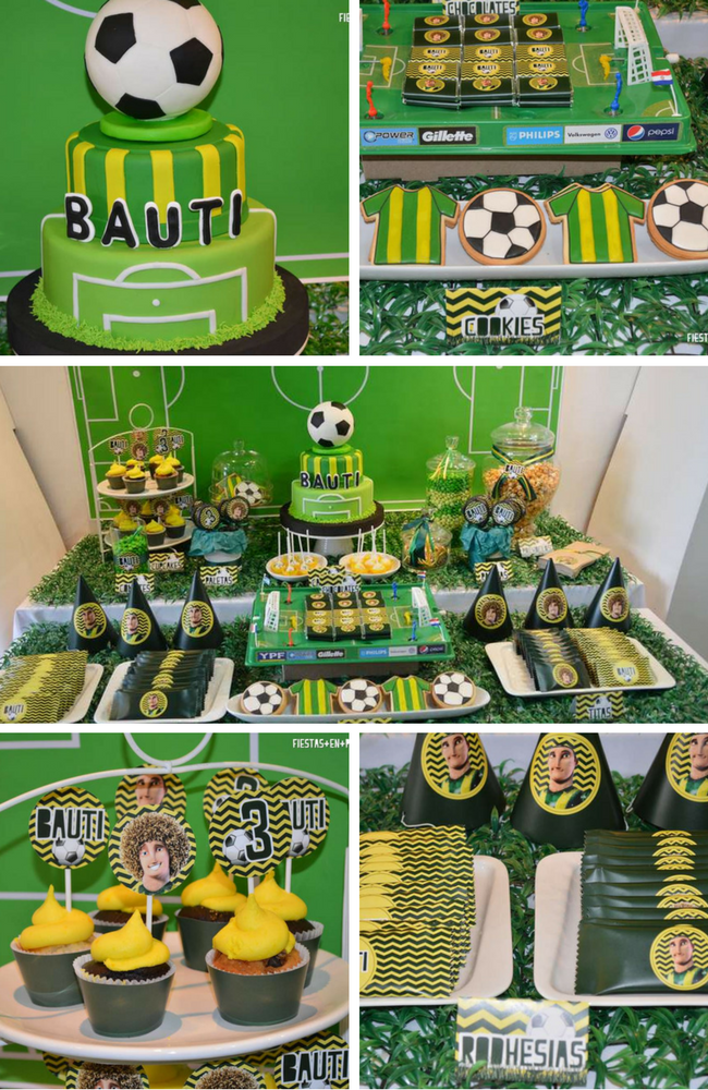 Football Party Inspirations - Birthday Party Ideas & Themes