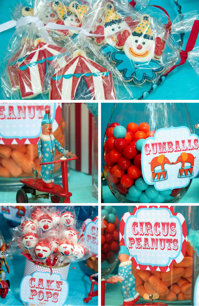 Circus Party Inspirations - Birthday Party Ideas & Themes