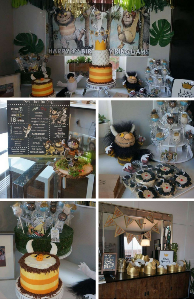 Where The Wild Things Party Inspirations Birthday Party