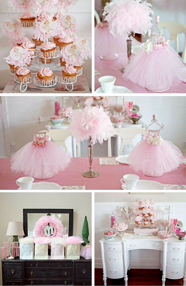 Ballerina Party Inspirations Birthday Party Ideas Amp Themes