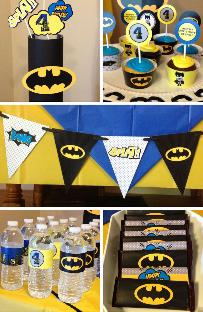 Batman Party Inspirations - Birthday Party Ideas & Themes